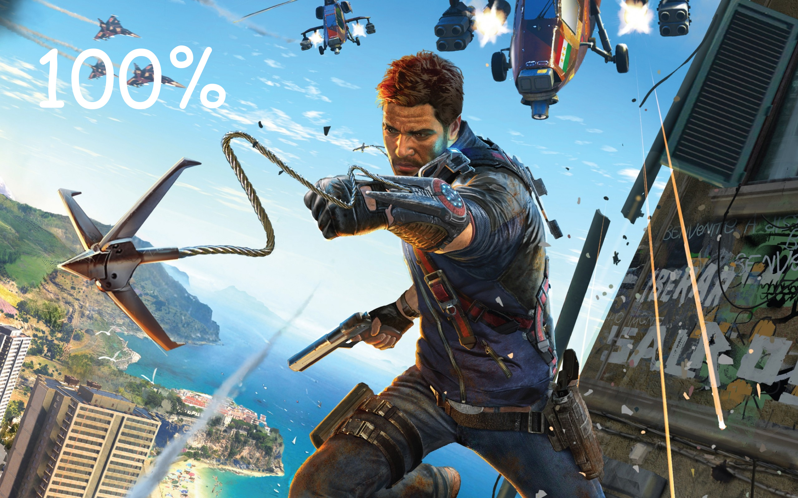 JC3 100% RE-OPRESSED SAVE GAME WITH ALL SKY/MECH DLC UNLOCKED