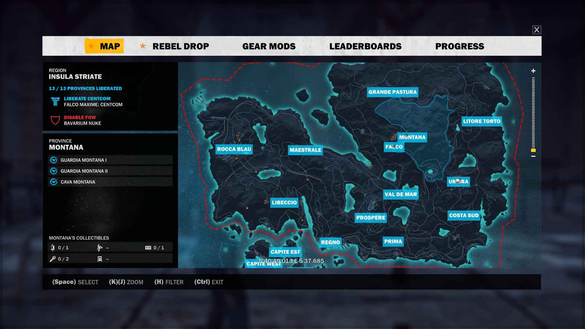 All Locations + Gear Mods Before 4th Mission (NO DLC)