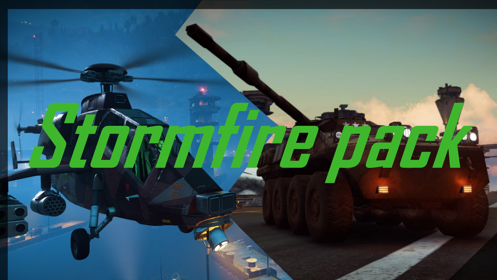 StormFire vehicle-pack