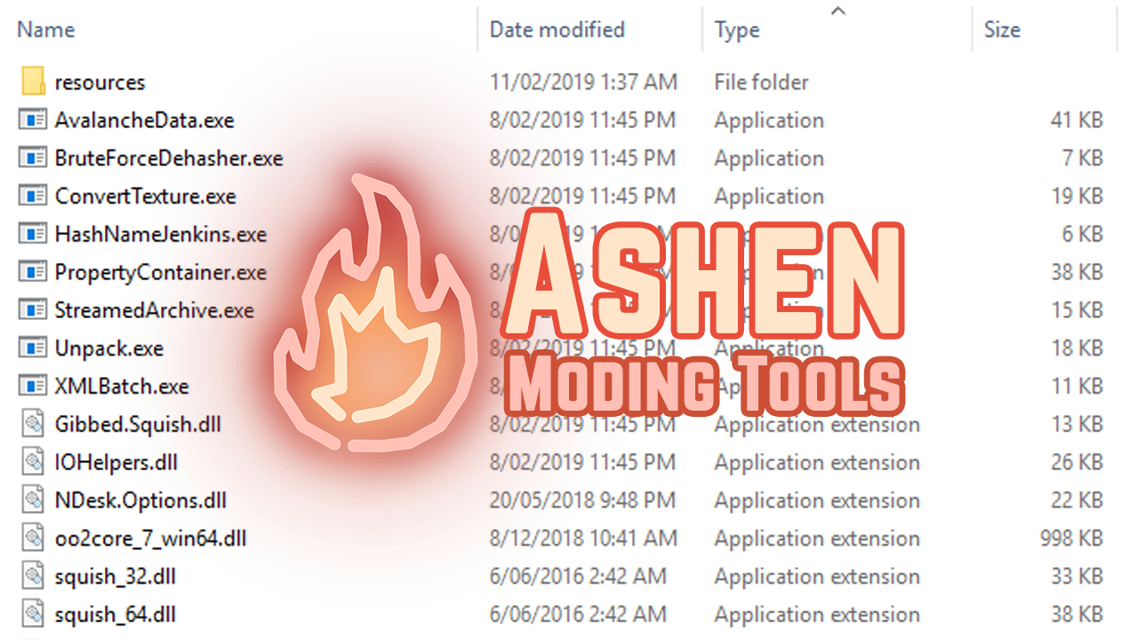 Ashen Mod Tools for JC4
