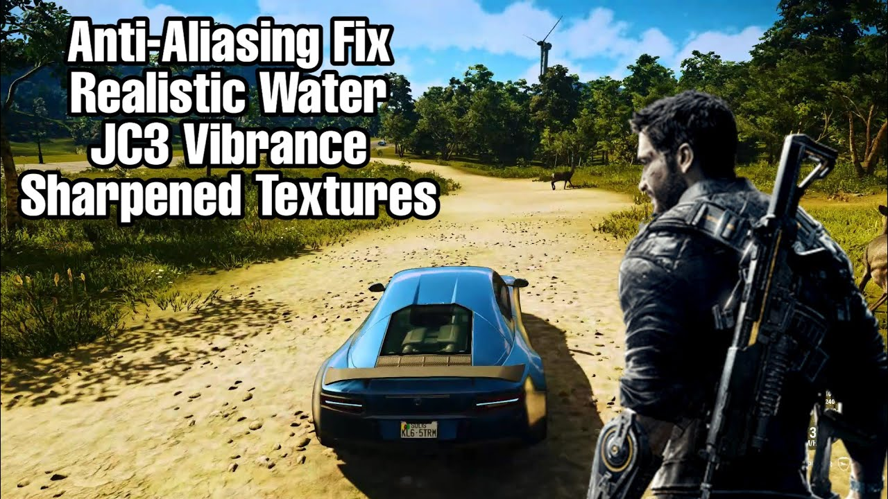 Just Cause 4 Graphics Mod | Better FXAA | Ocean Water | JC3 Vibbrance | Hair Glitch Fix | Ricolistic Graphics |  [ NVIDIA Users Only]