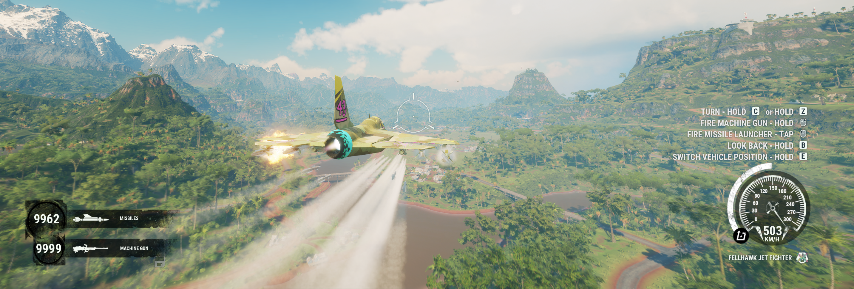 Upgraded fighterjet