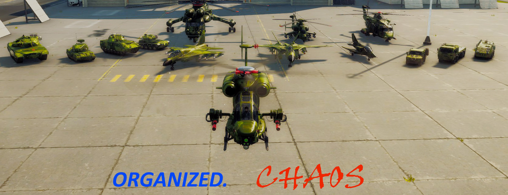 ORGANIZED CHAOS (ARMY OF CHAOS RETEXTURES)
