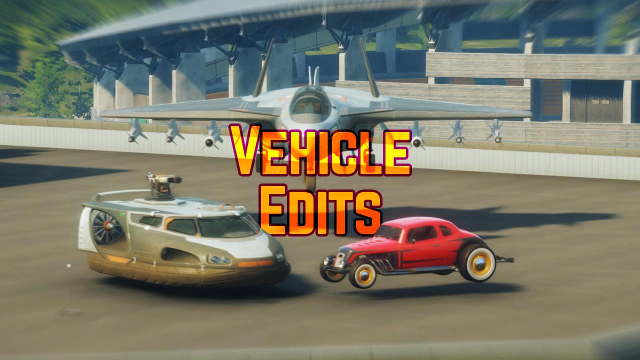 Vehicle Edits