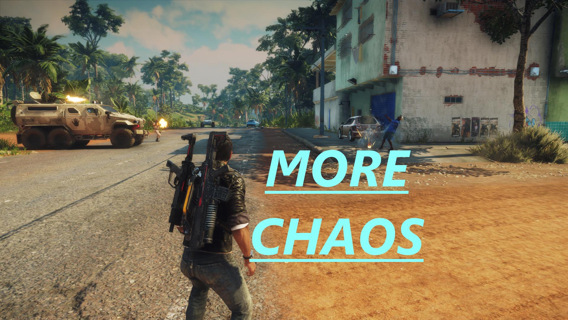 More Chaos – A Factions Mod