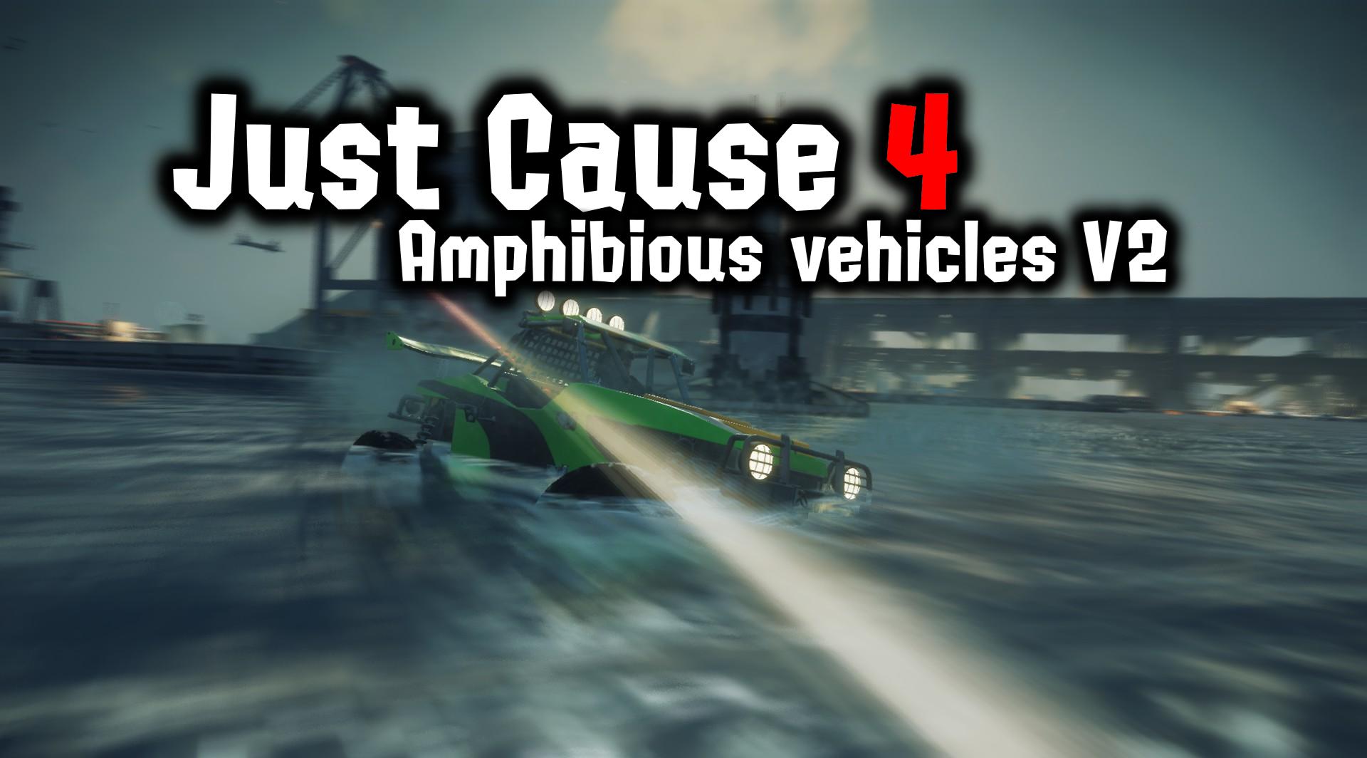 Amphibious vehicles V2