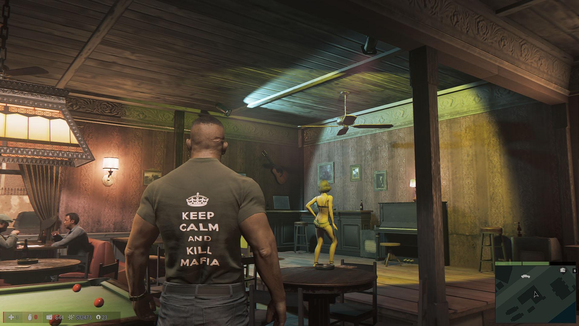 """Keep Calm & Kill Mafia"" t-shirt mod"