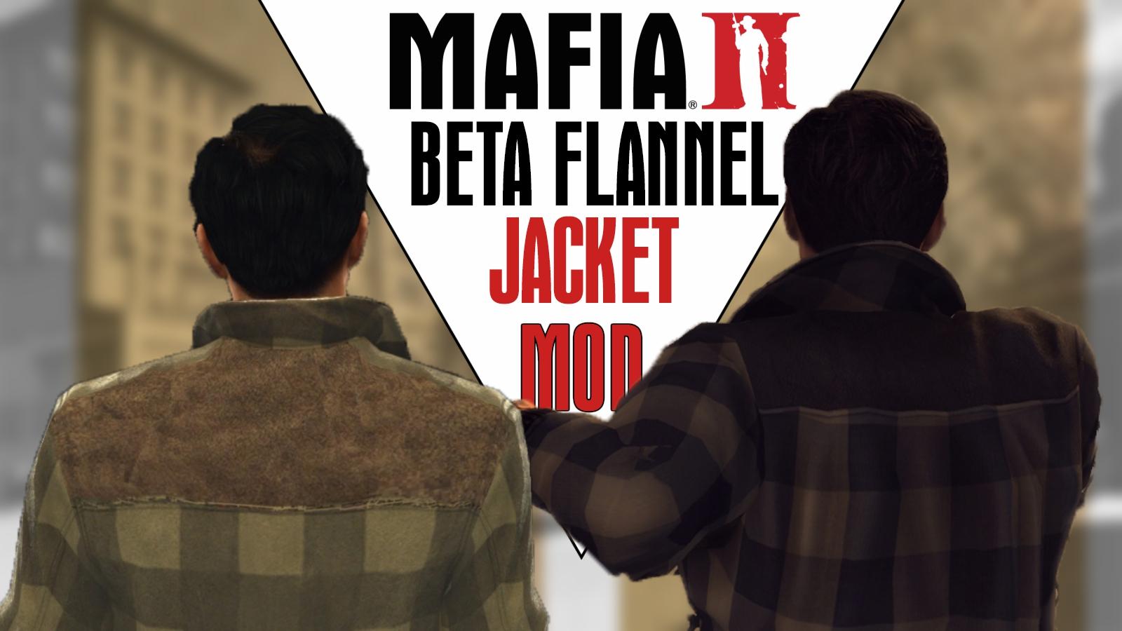 MAFIA II – BETA FLANNEL JACKET MOD