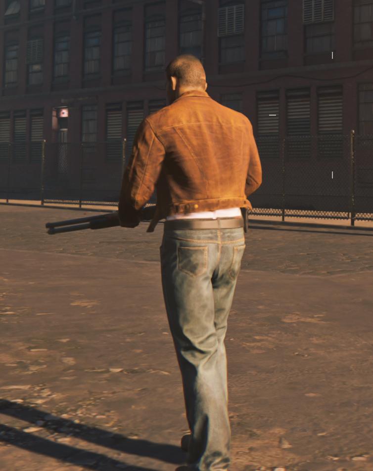 Brown Jacket Mod