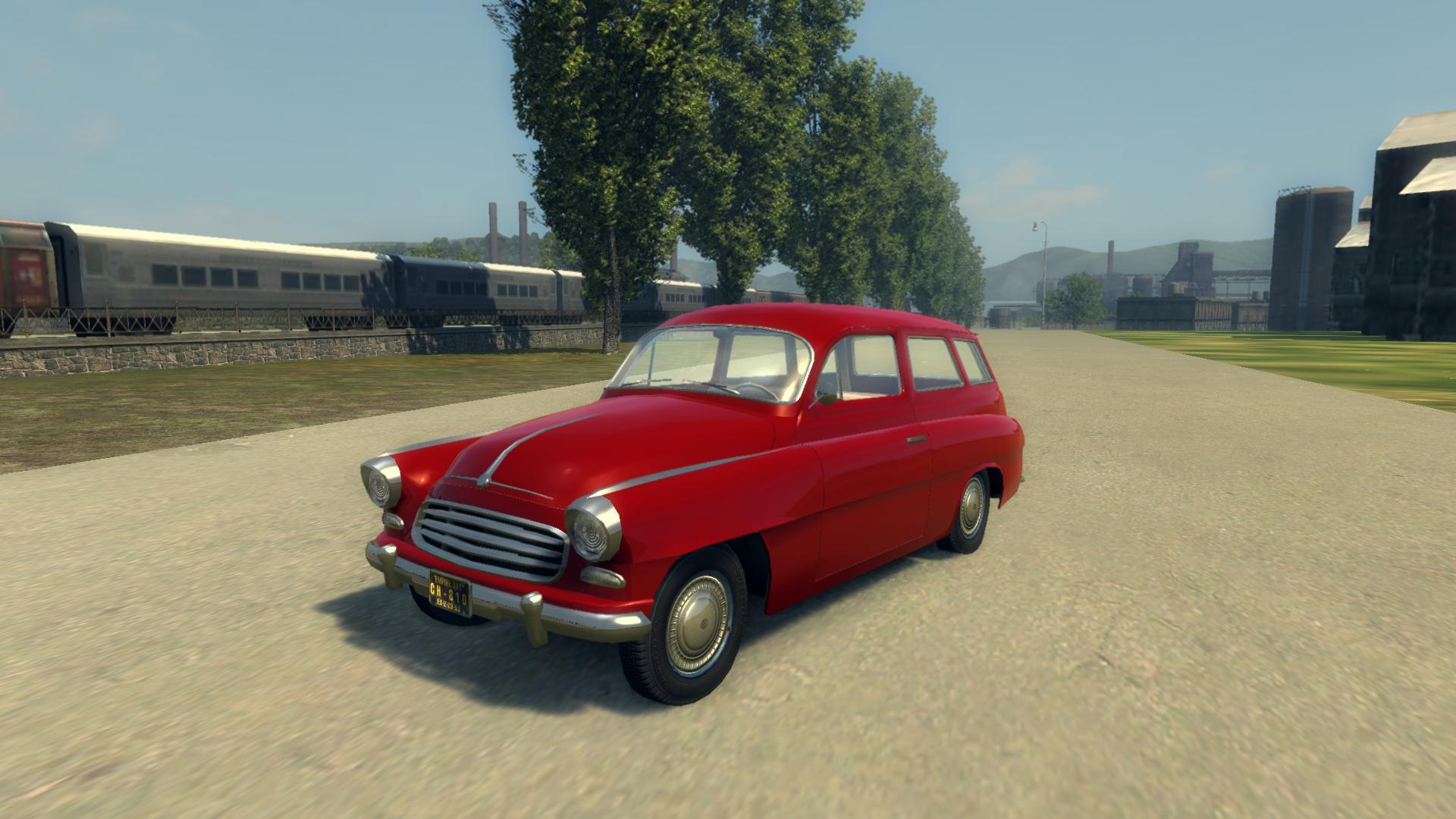 Mafia 2 – Ruscko (Škoda Octavia Combi 1961)