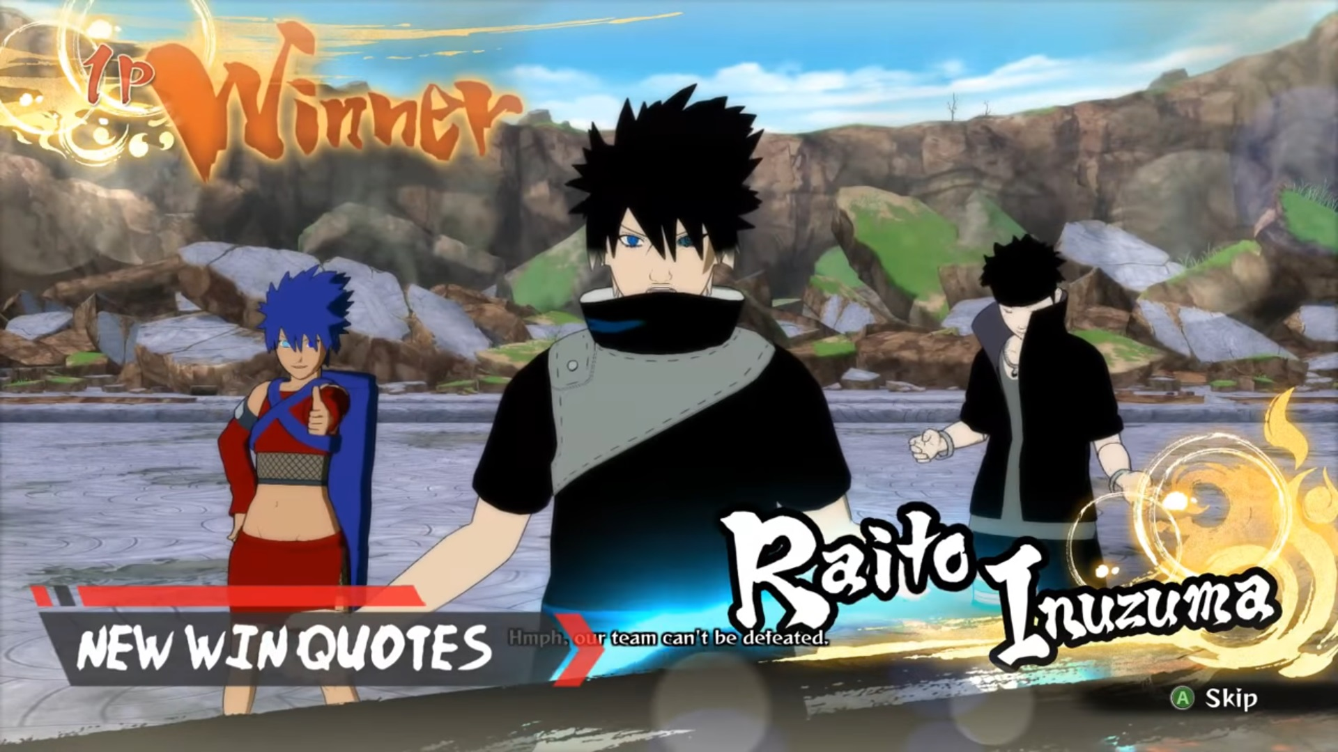 3 Original Characters