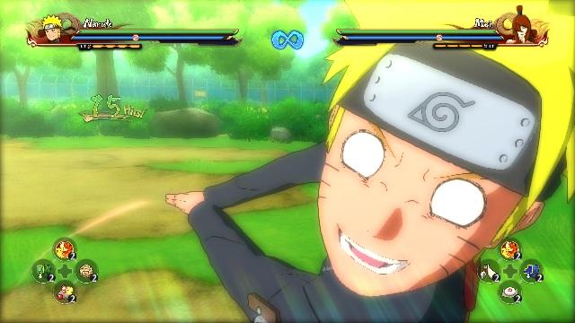 NSUNS4 – Naruto(TBB) Side Combo