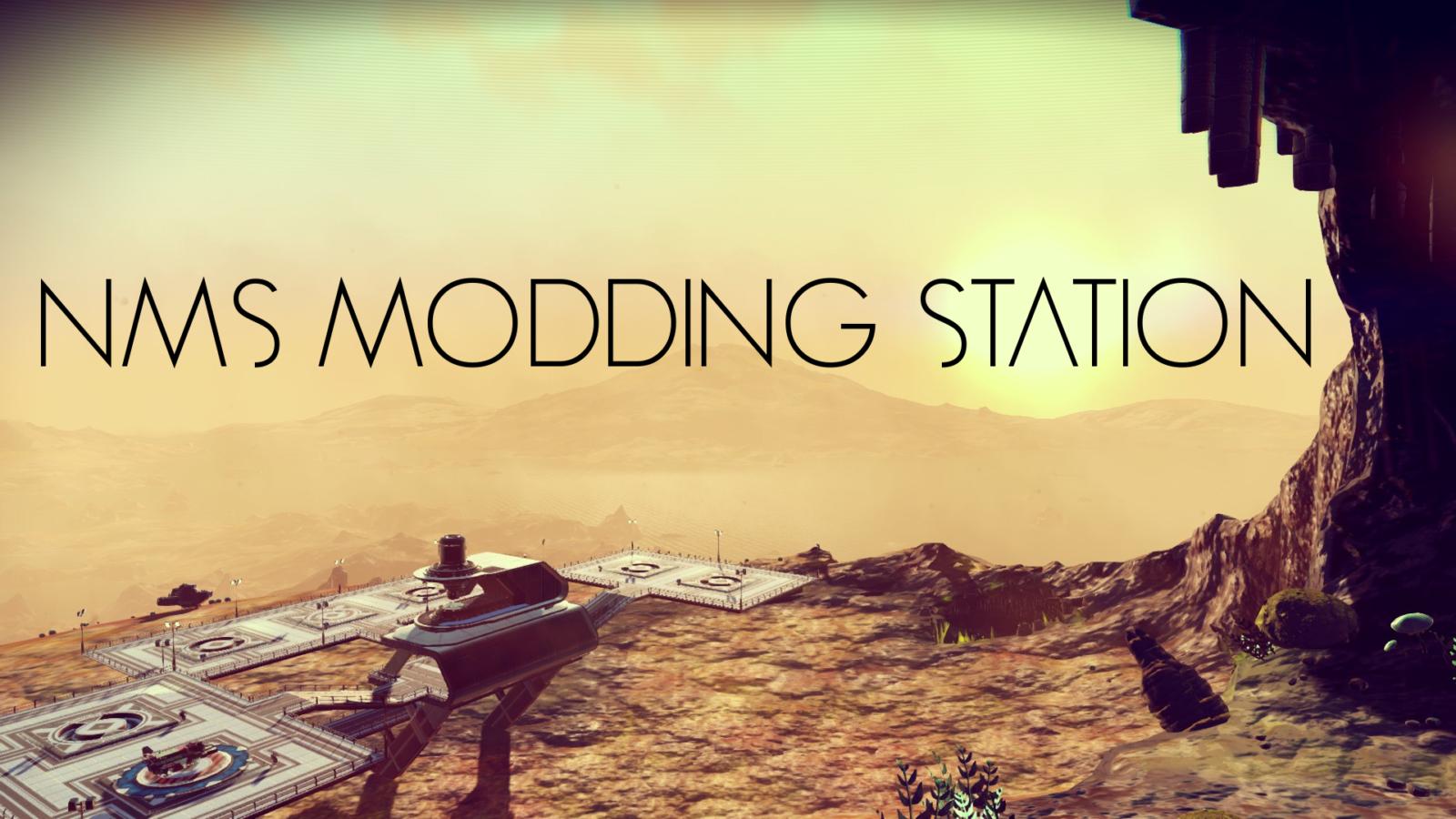 NMS MODDING STATION