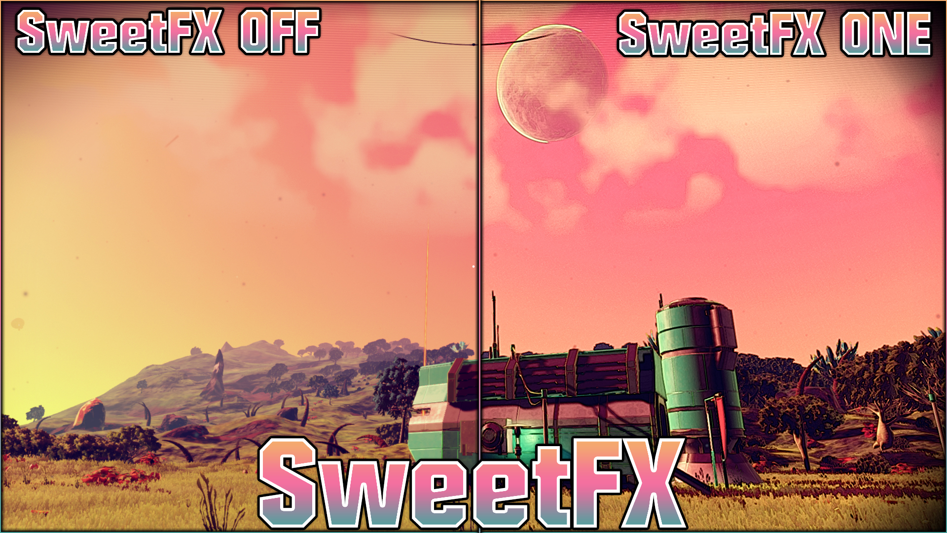 No Man's Sky | SweetFX | Graphics Mod | Style Cell Shading