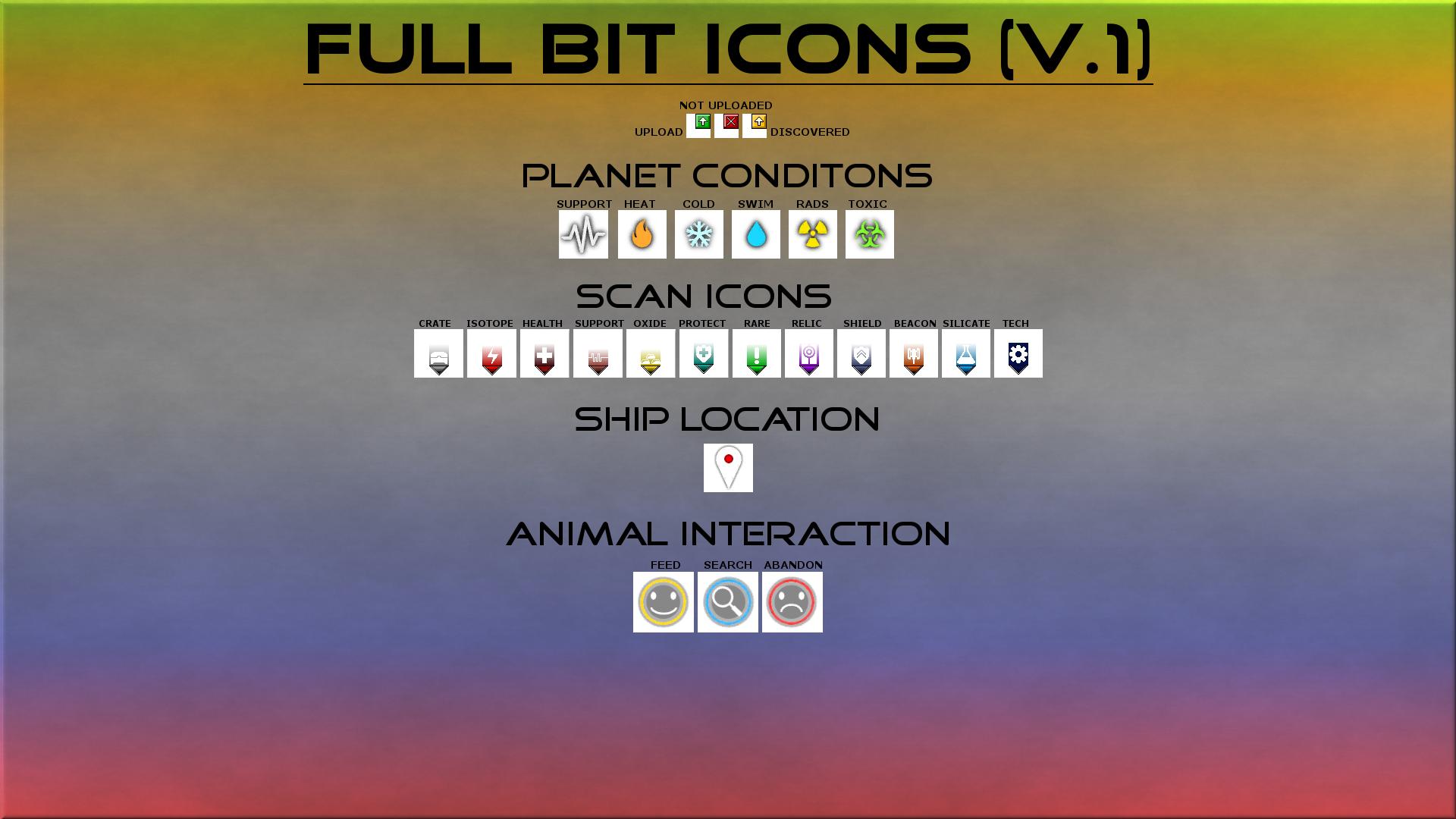 Holo Icons +