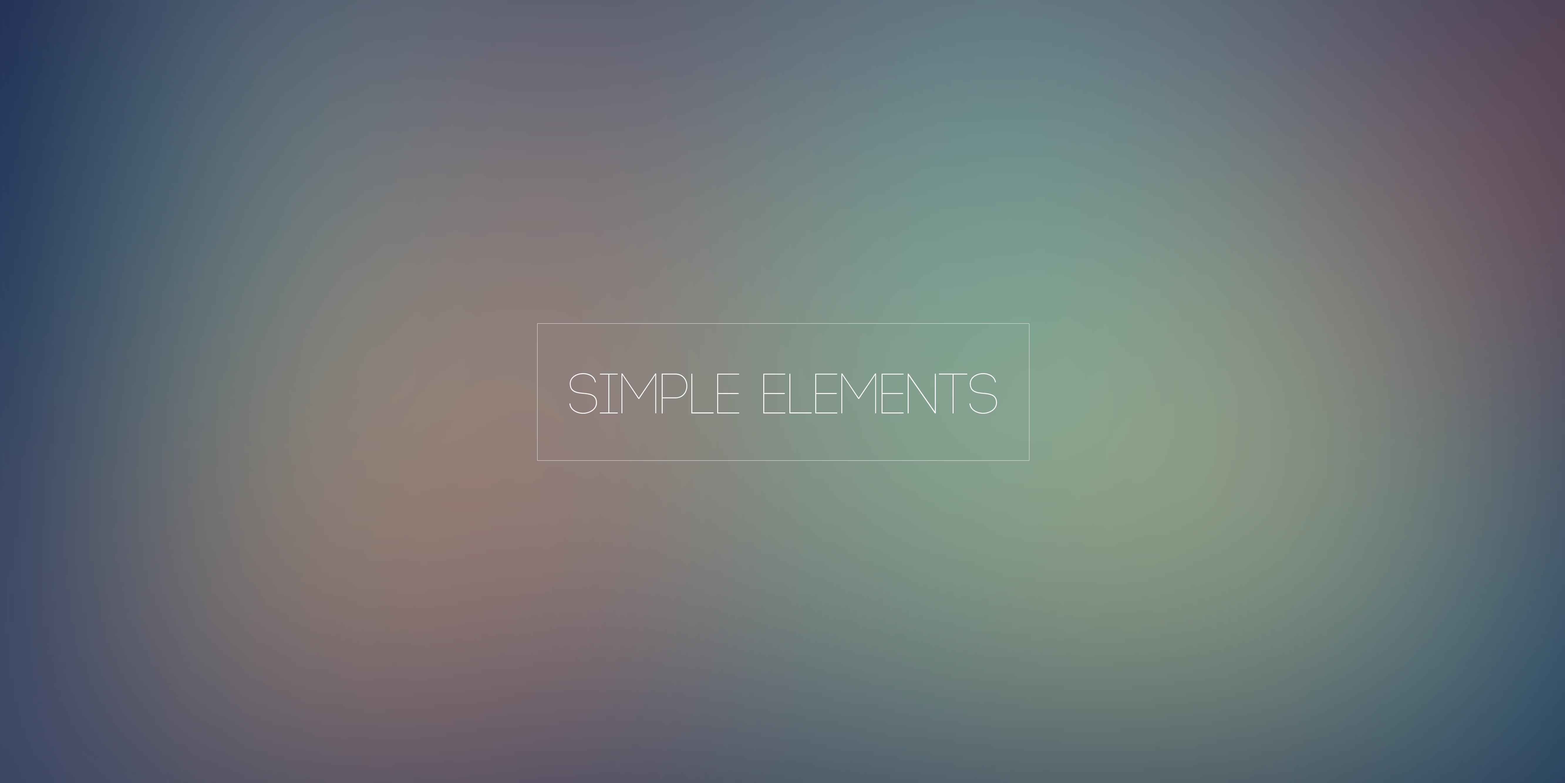 Simple Elements