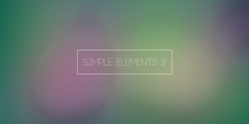 Simple Elements 2 (ICON PACK) (NEW UPDATE 1.1)