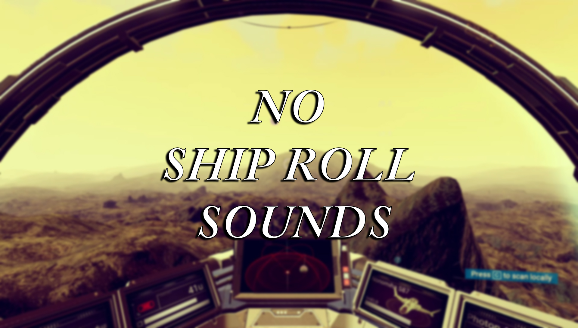 No ship roll/rotate sounds