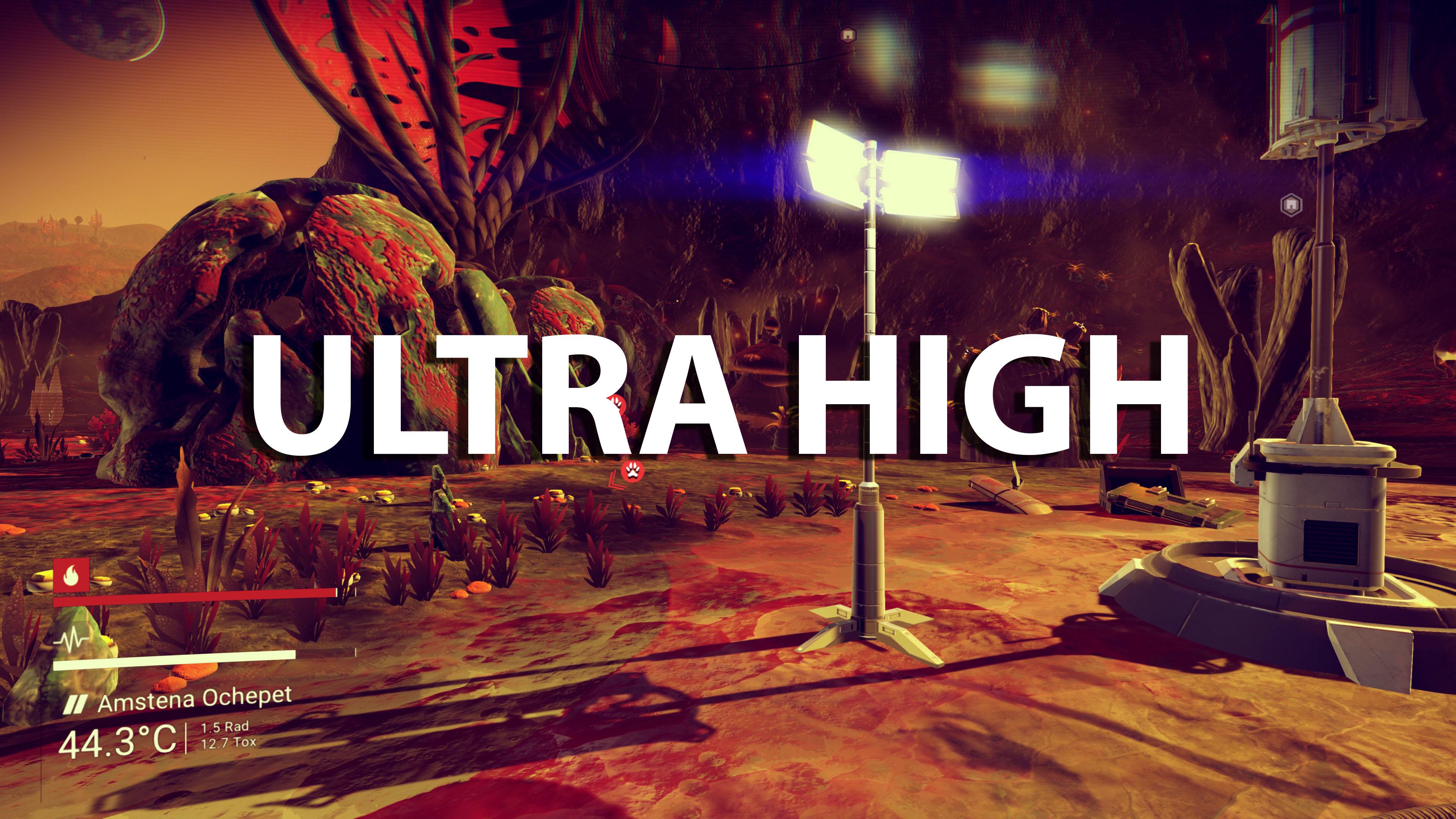NMS – BetterGrain&Ultra High Mod