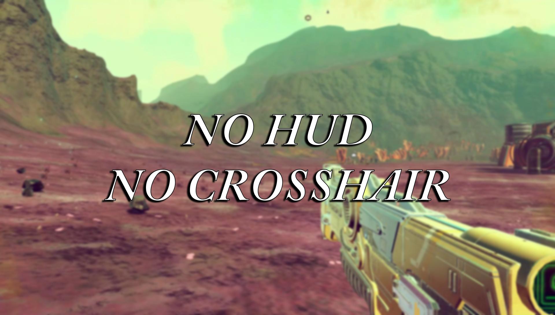 No Hud & No Crosshair (.PAK)
