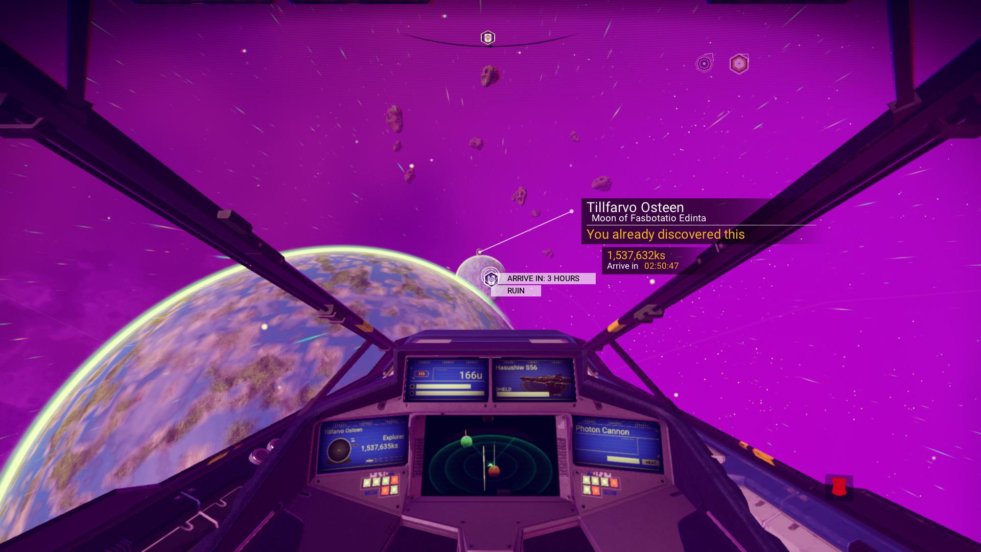 Starship Blue HUD