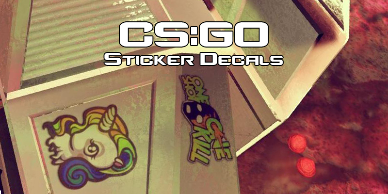 CS:GO Sticker Decals