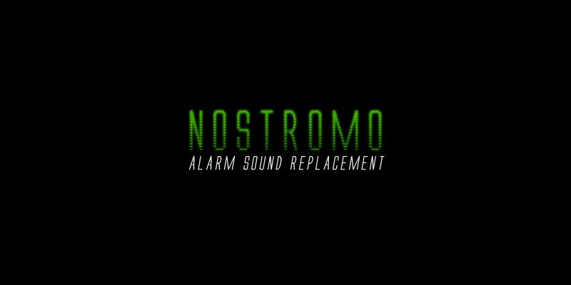 Nostromo – Alarm Sound Replacement