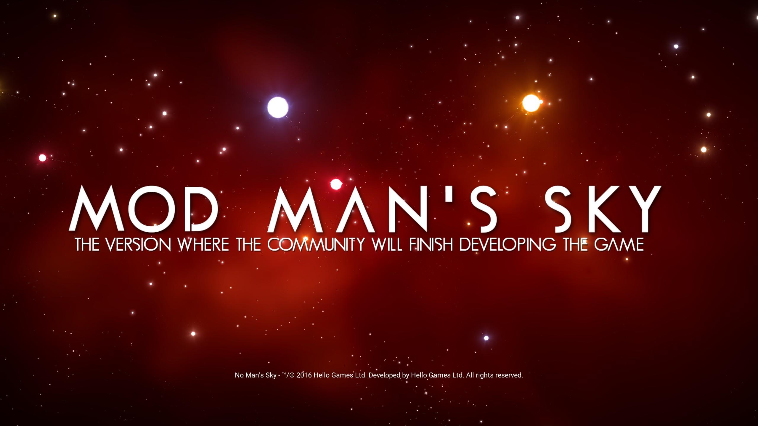 MOD MAN'S SKY