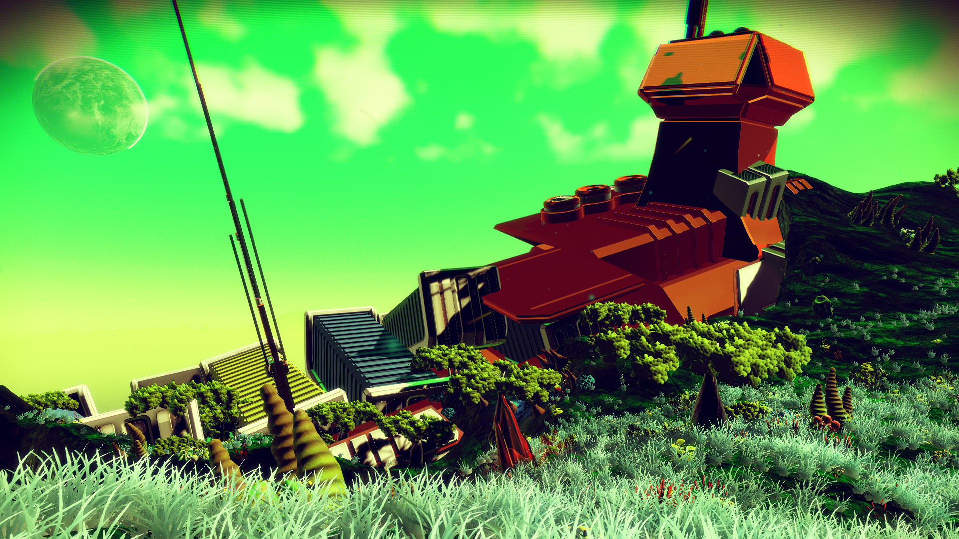 Crashed Freighter