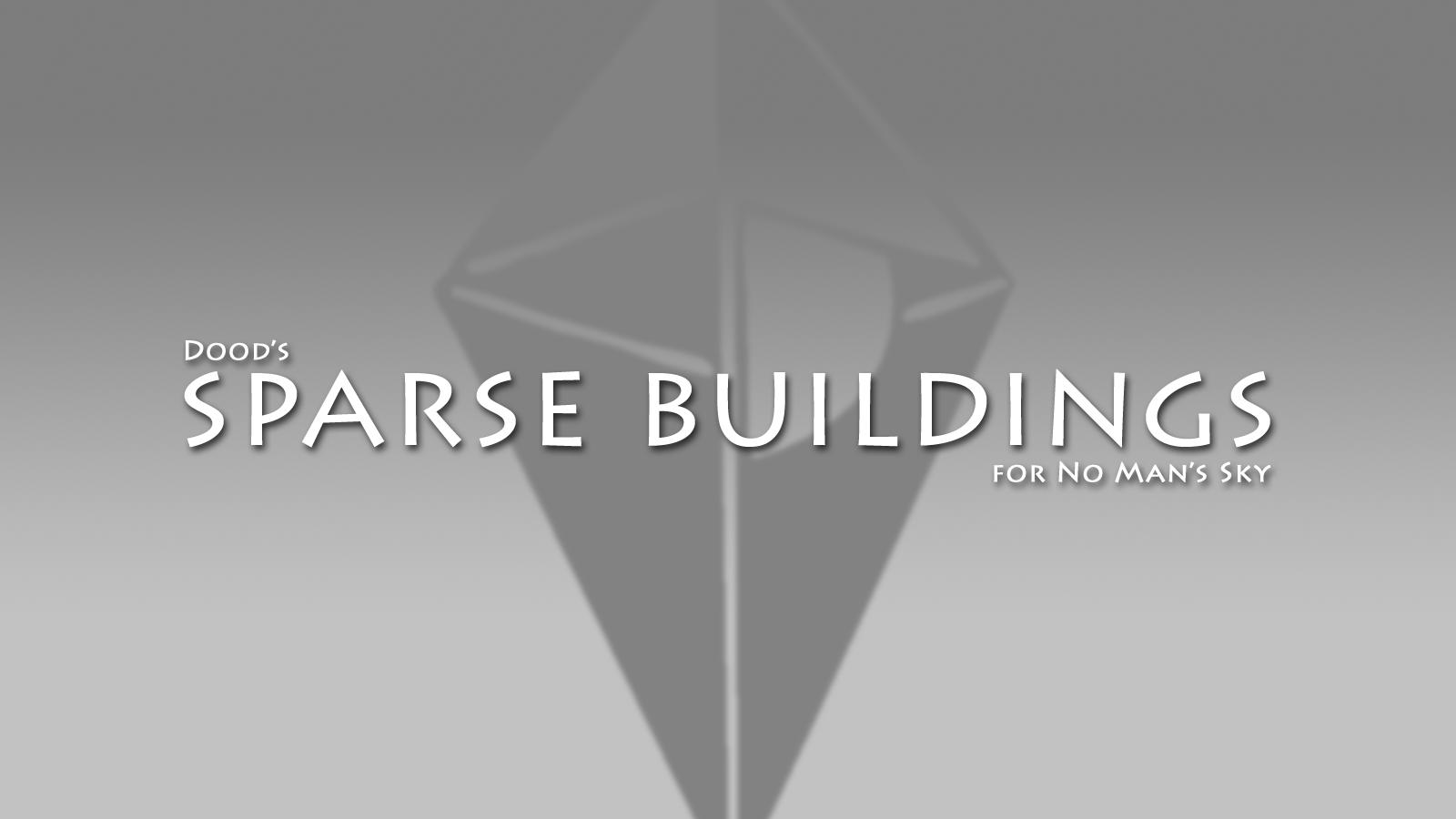 Sparse Buildings