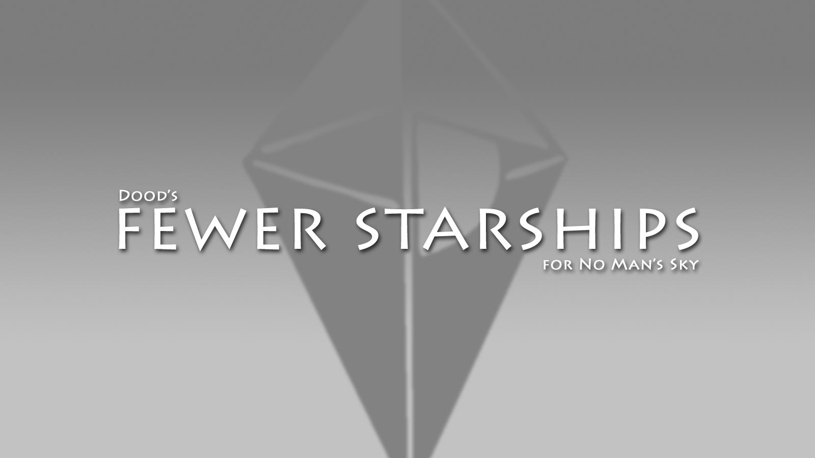 Fewer AI Starships (Work in Progress)