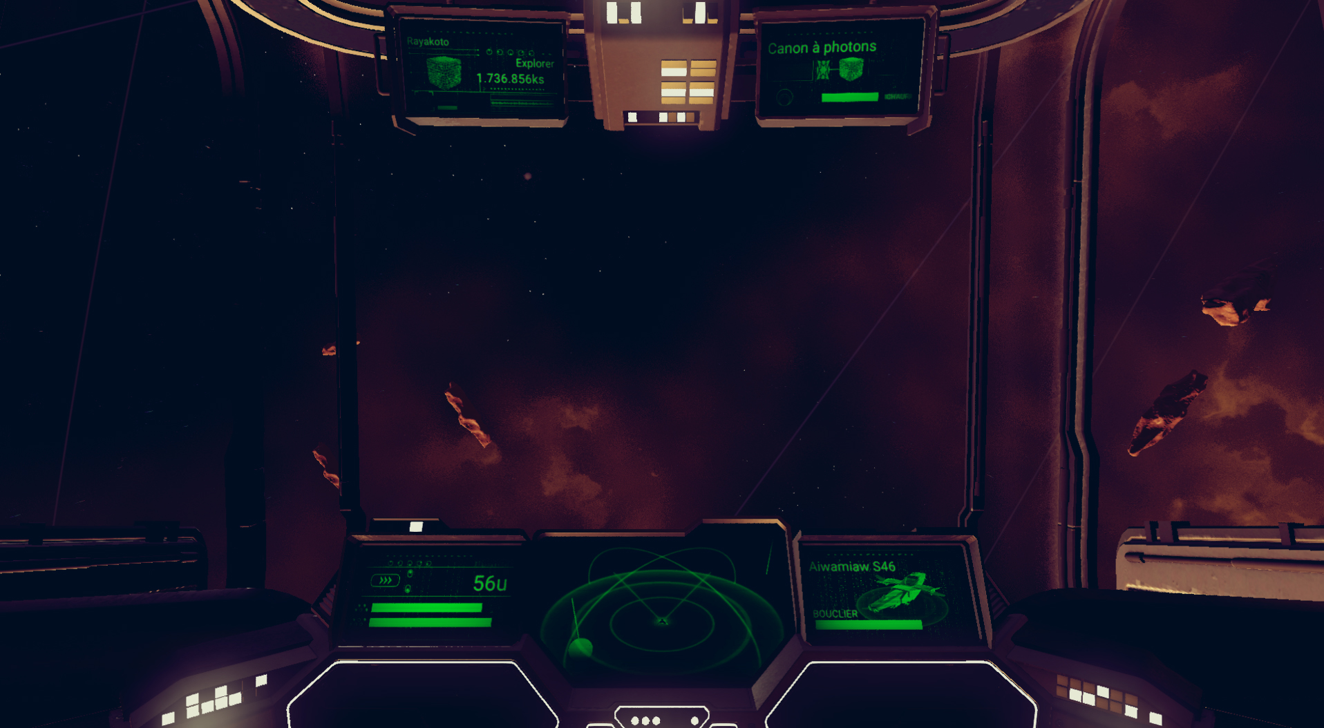 Ship HUD Matrix style