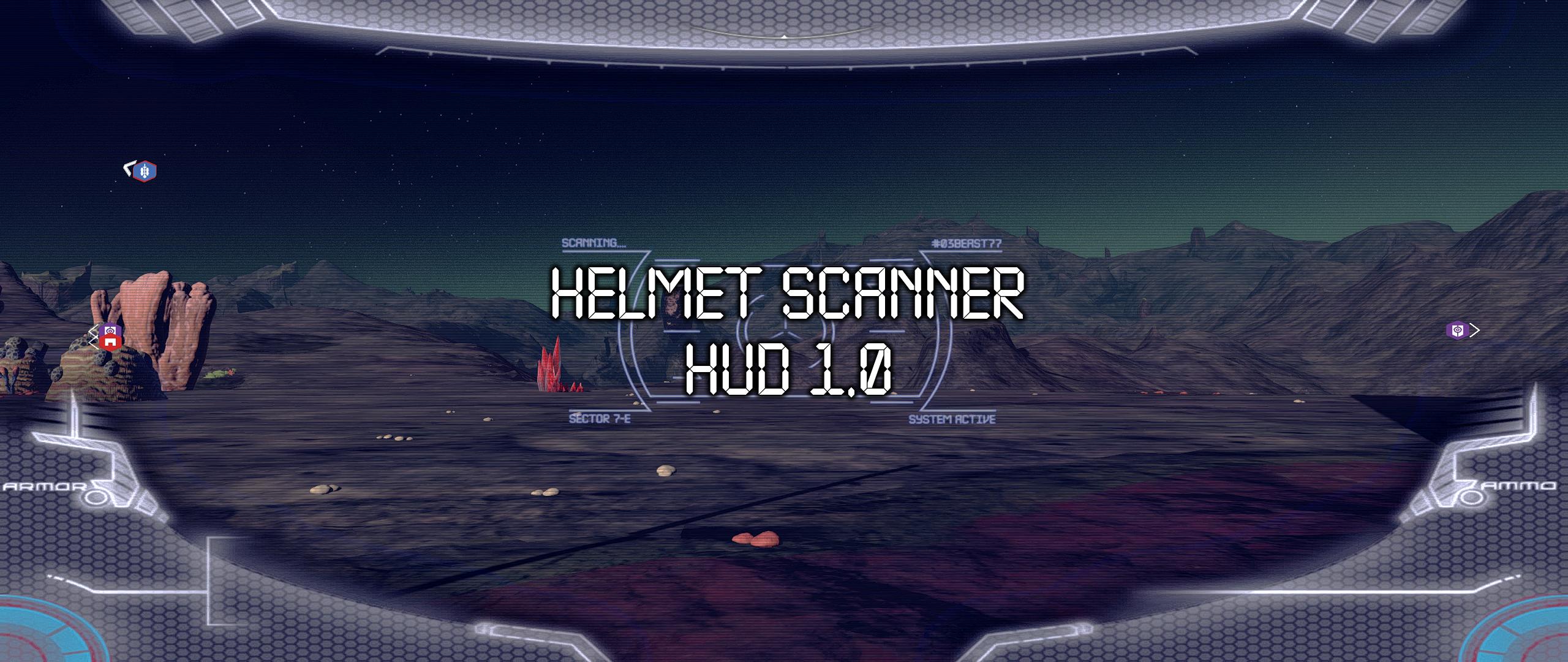 Helmet Scanner HUD