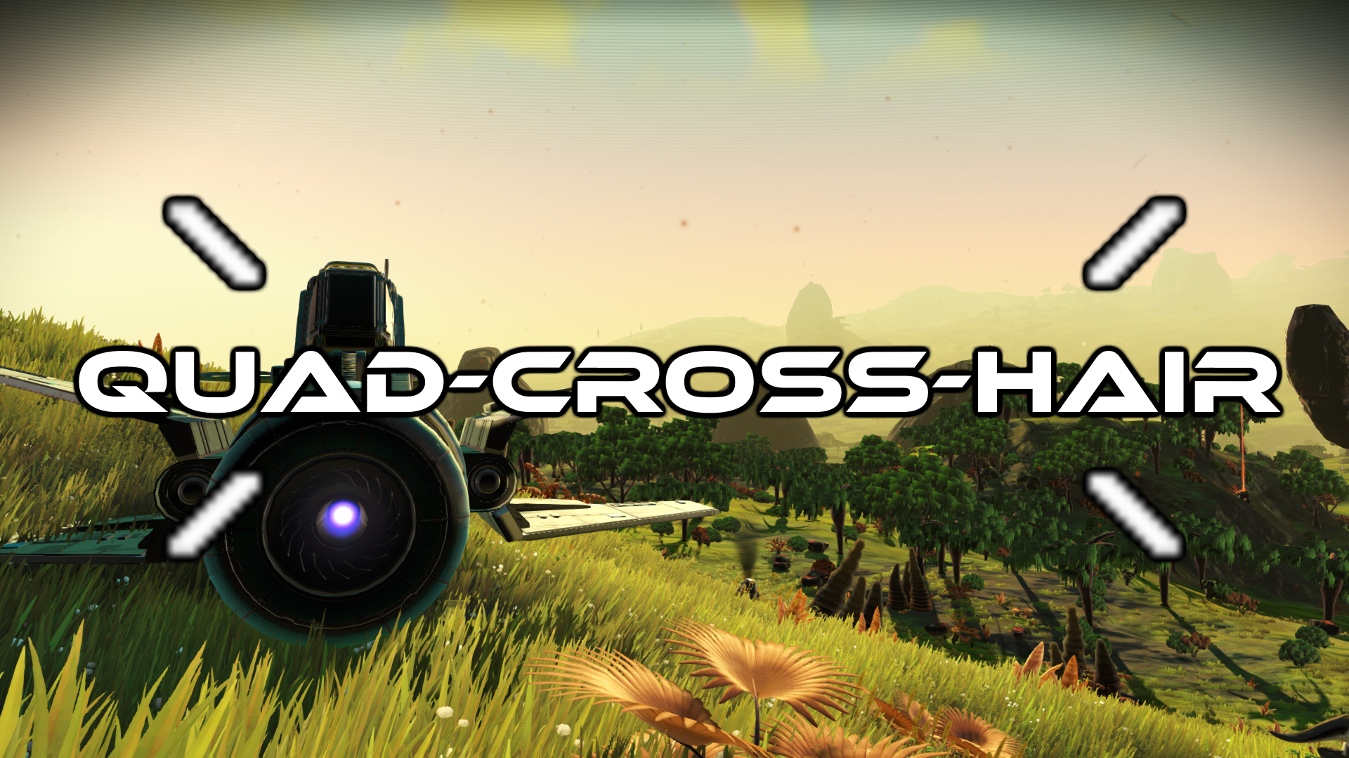 [UPDATED] Four Pronged Crosshair MK2 (re-make)