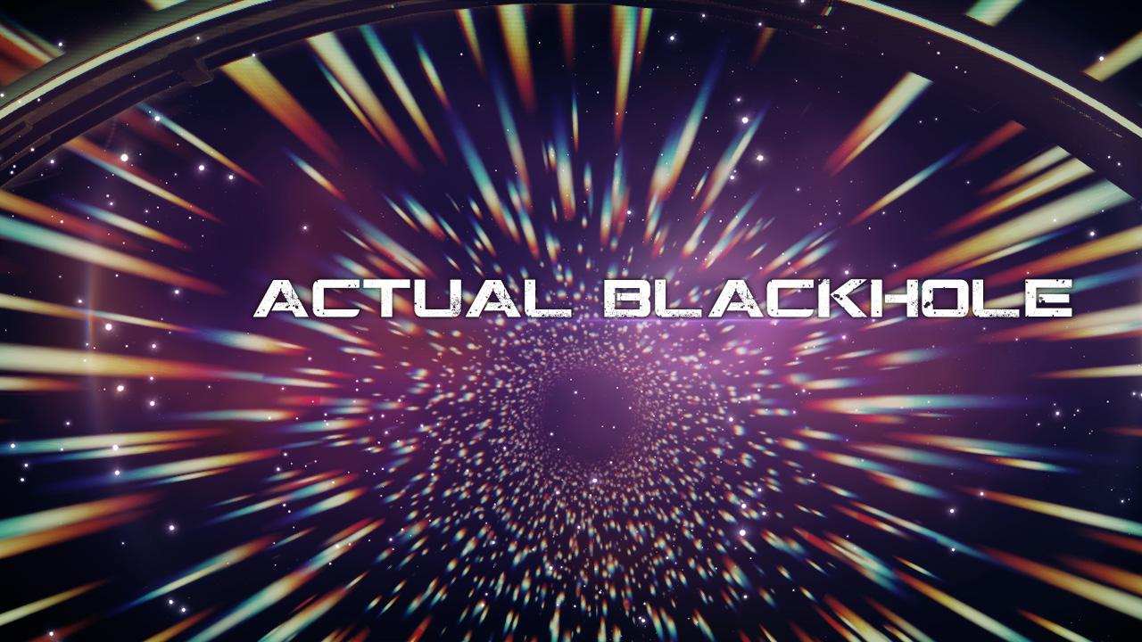 Actual Blackhole