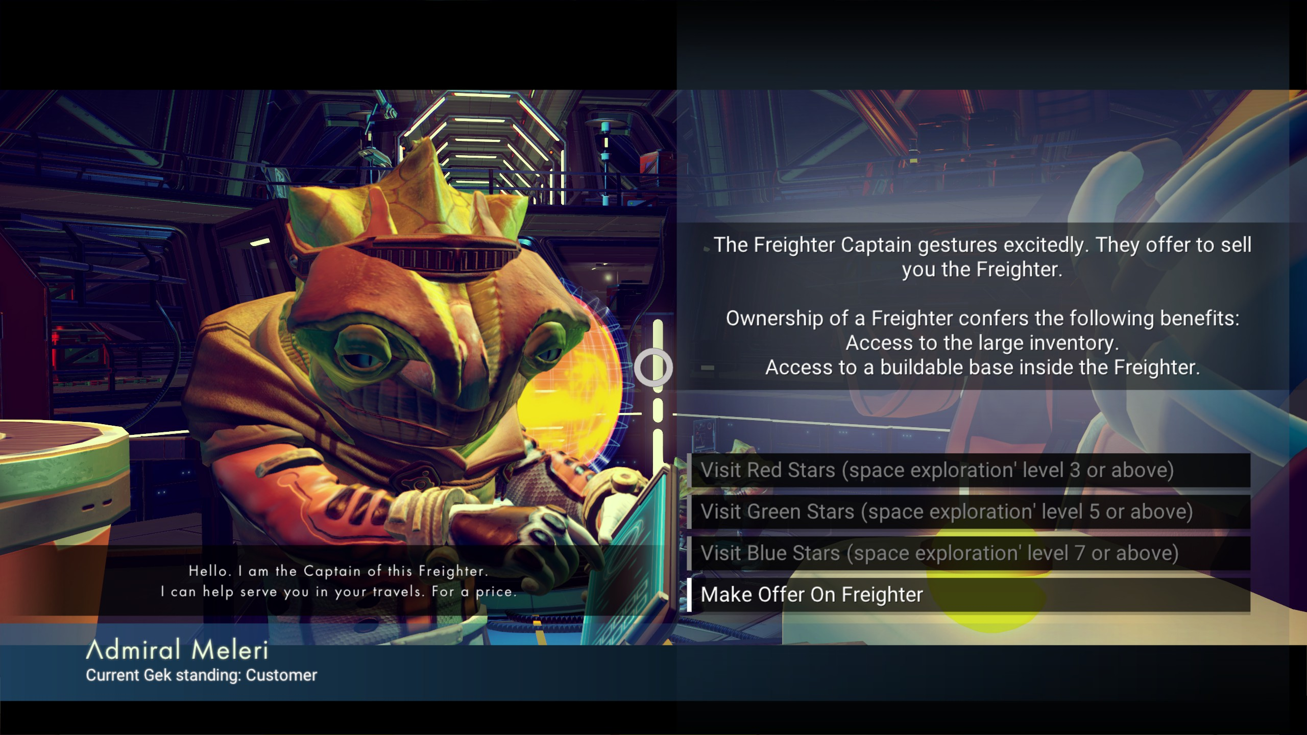 Freighter Captains Sell Hyperdrive Boosters