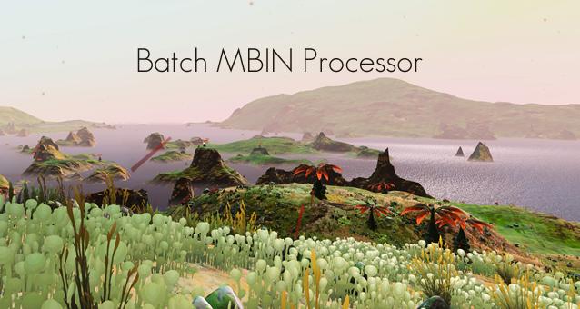 Batch MBIN Processor
