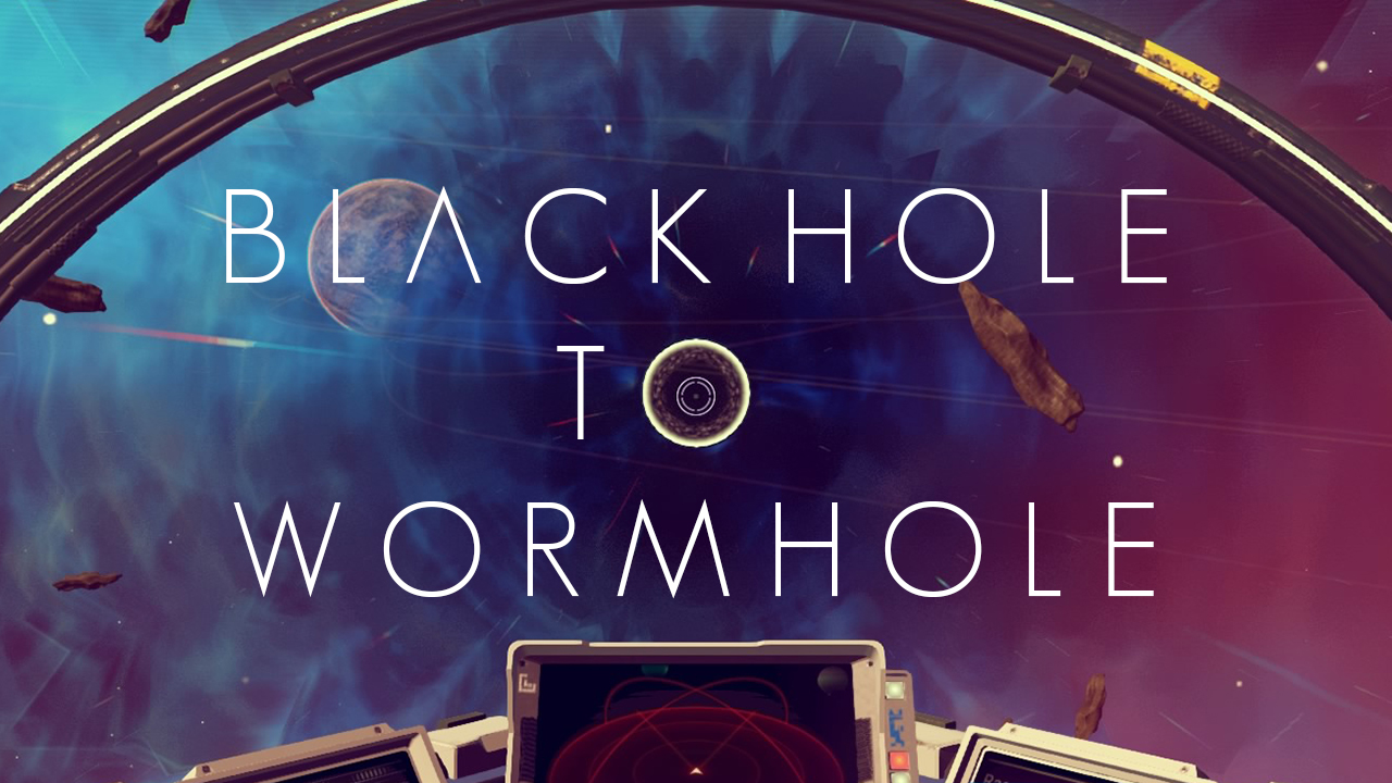 Black Hole To Wormhole Rewording