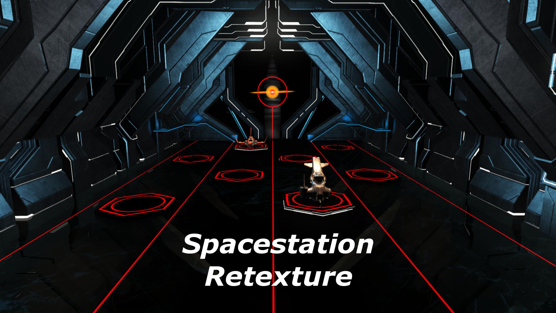 Spacestation Retexture HD + more Colors