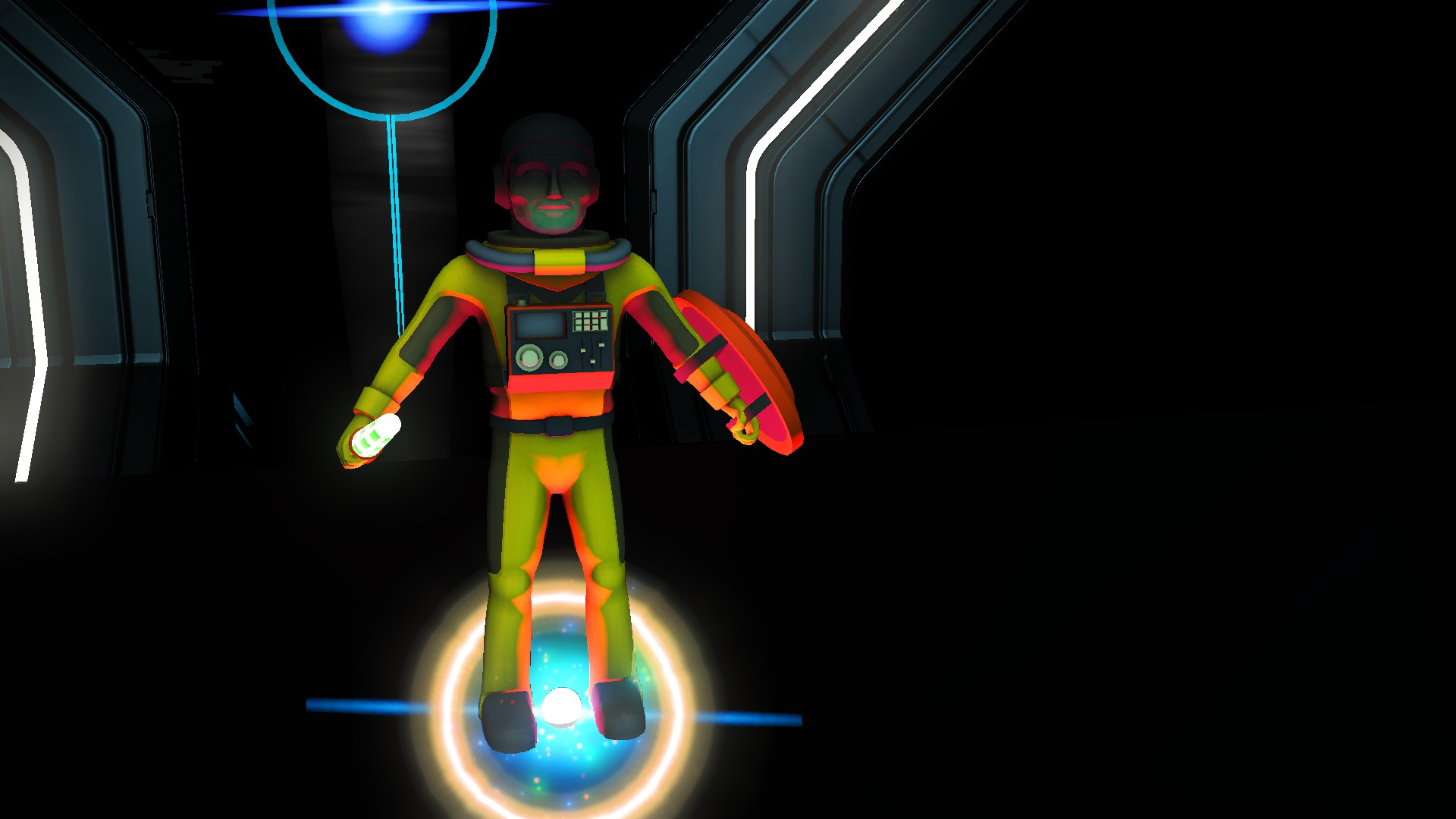 Multiplayer Astronaut Player Model