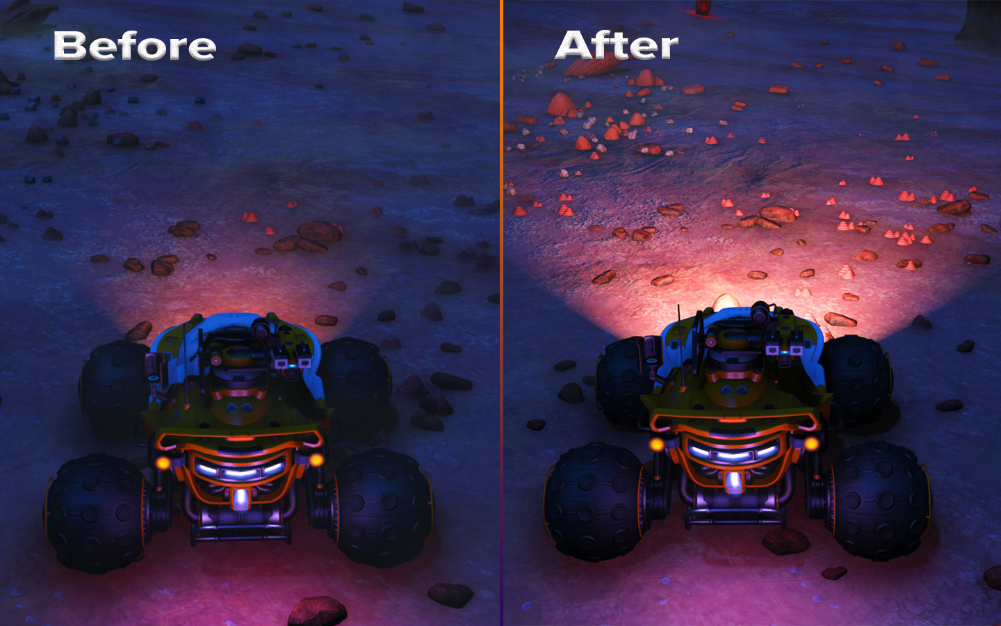 Exocraft Headlight Upgrade