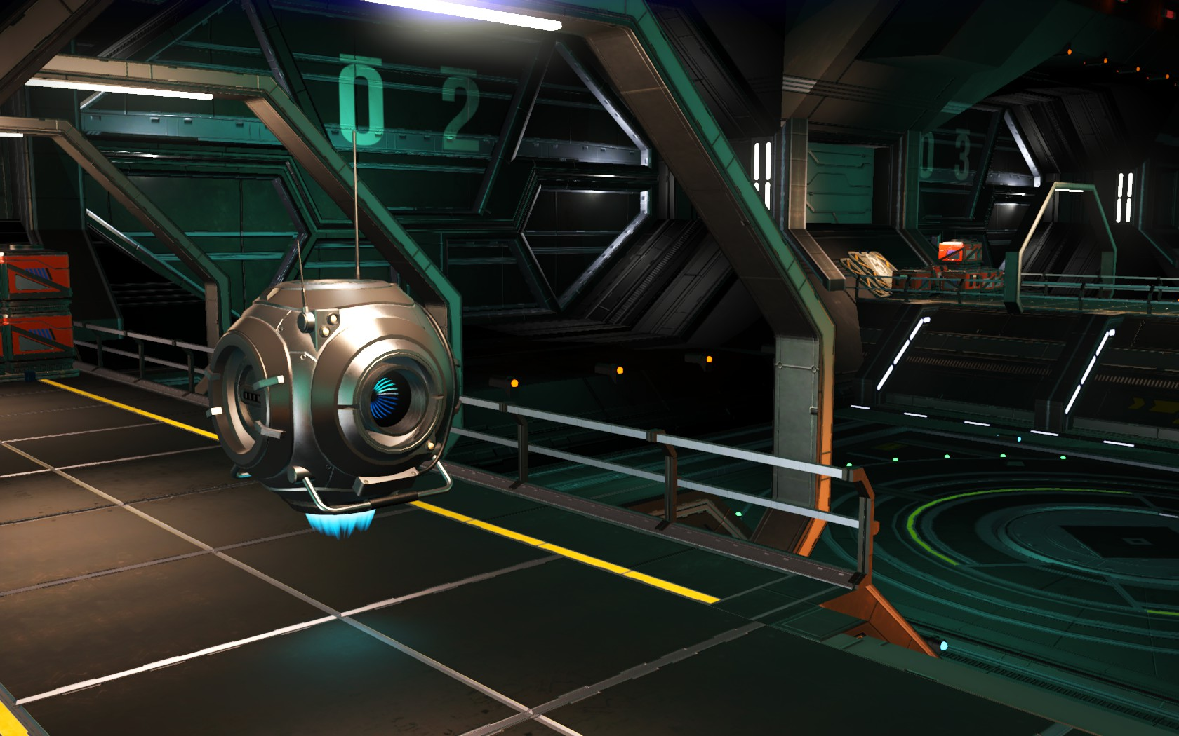 Populated Freighters and Space Stations