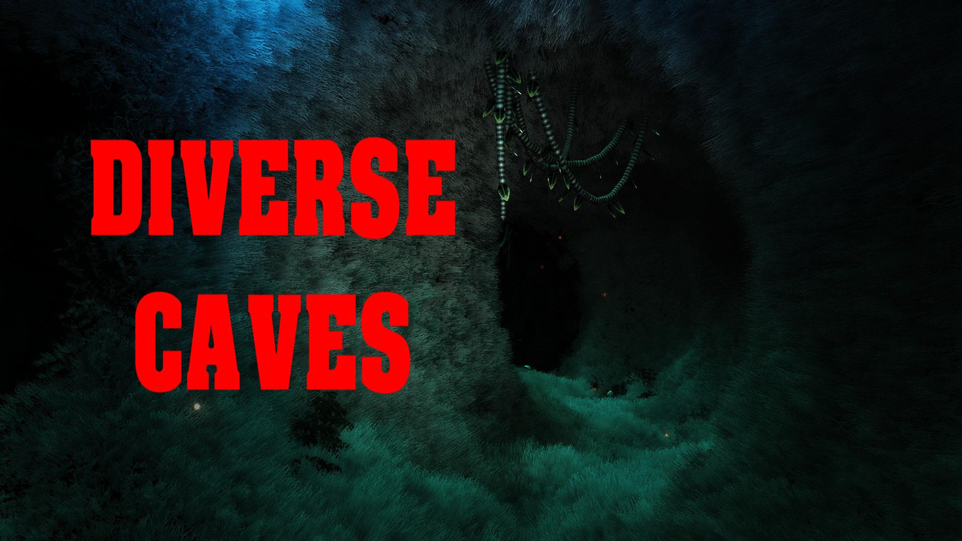 DIVERSE PROCEDURAL CAVES