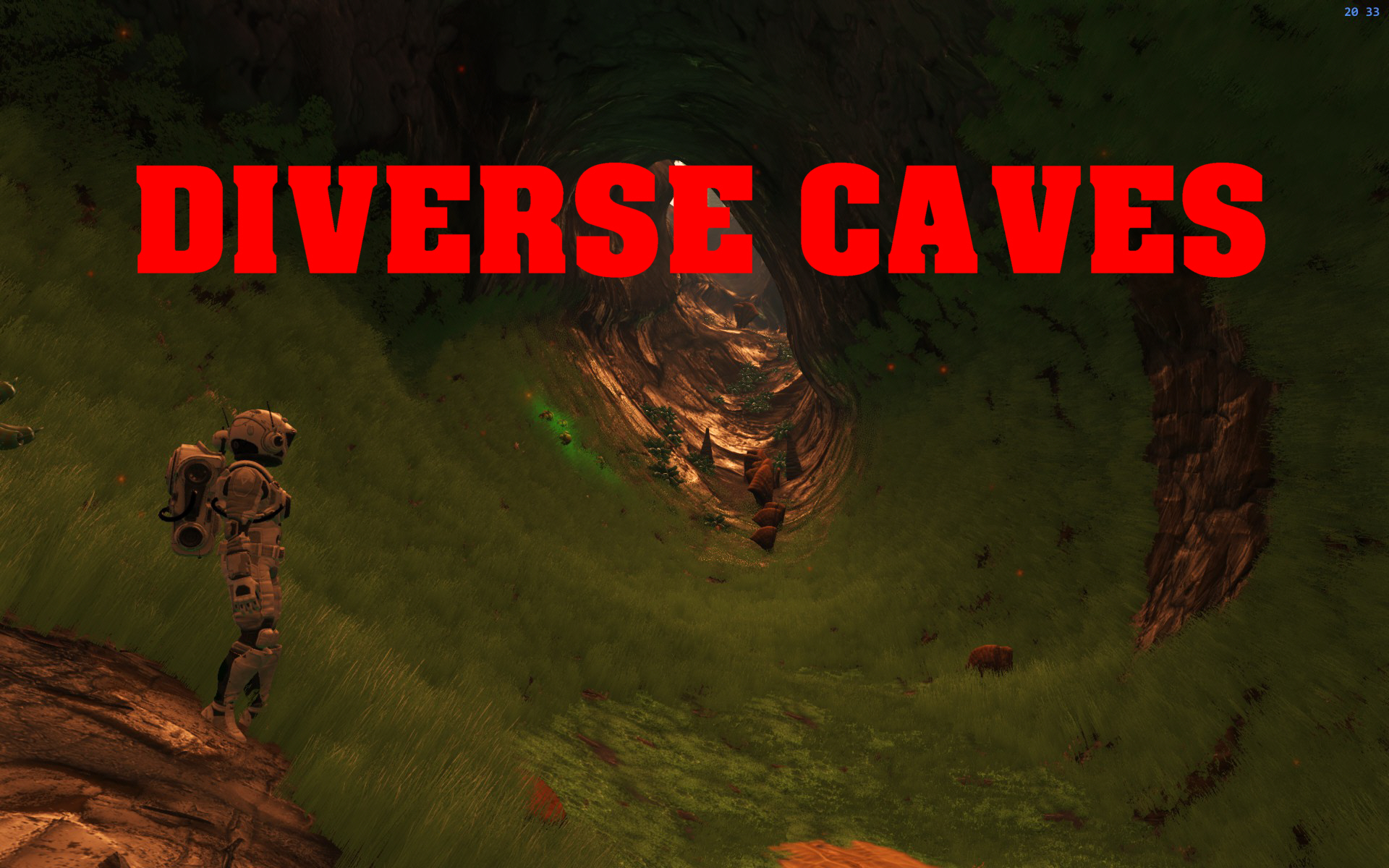 DIVERSE CAVES for NEXT