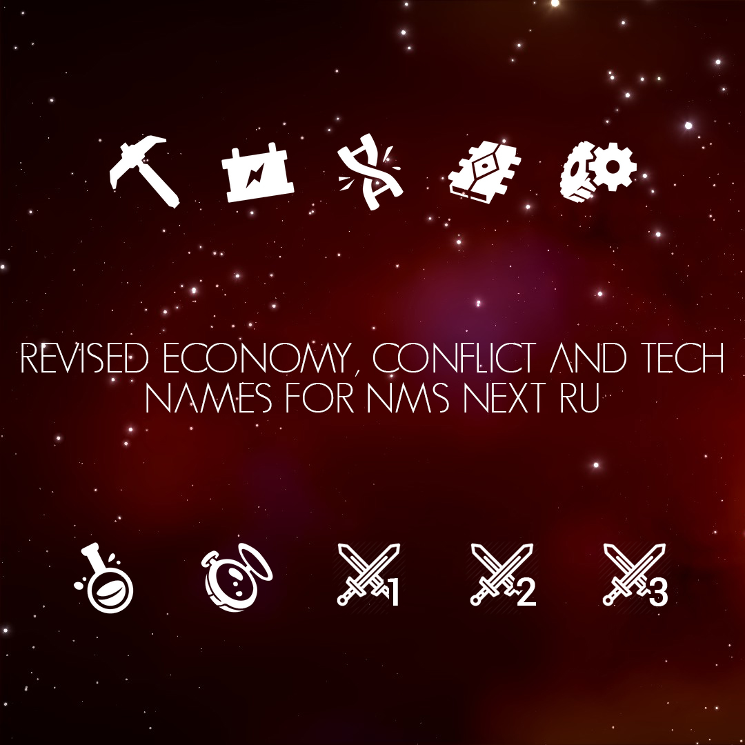 Revised Economy, Conflict and Tech Names for NEXT (RU)