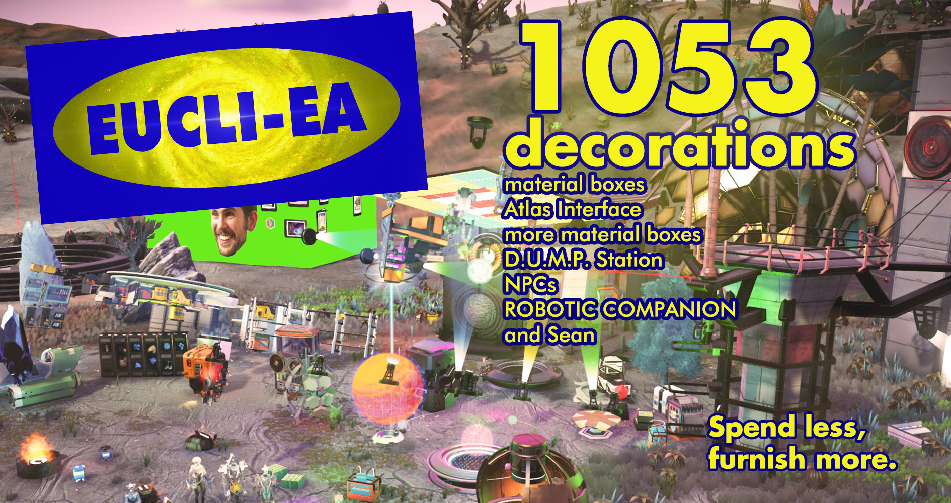 Eucli-ea – More buildable decorations (NEXT Edition)