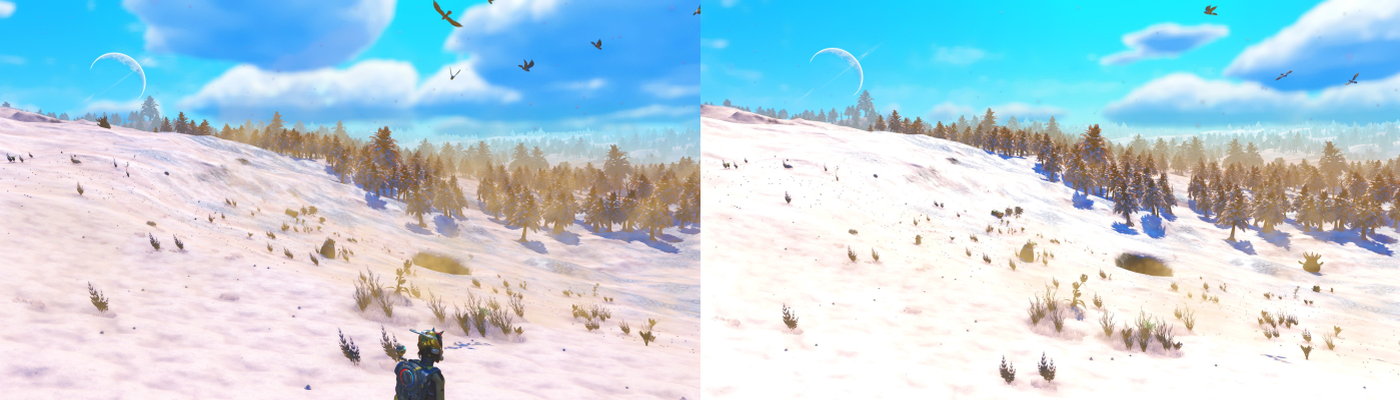 Brighter Sunlight (more vibrant planets)