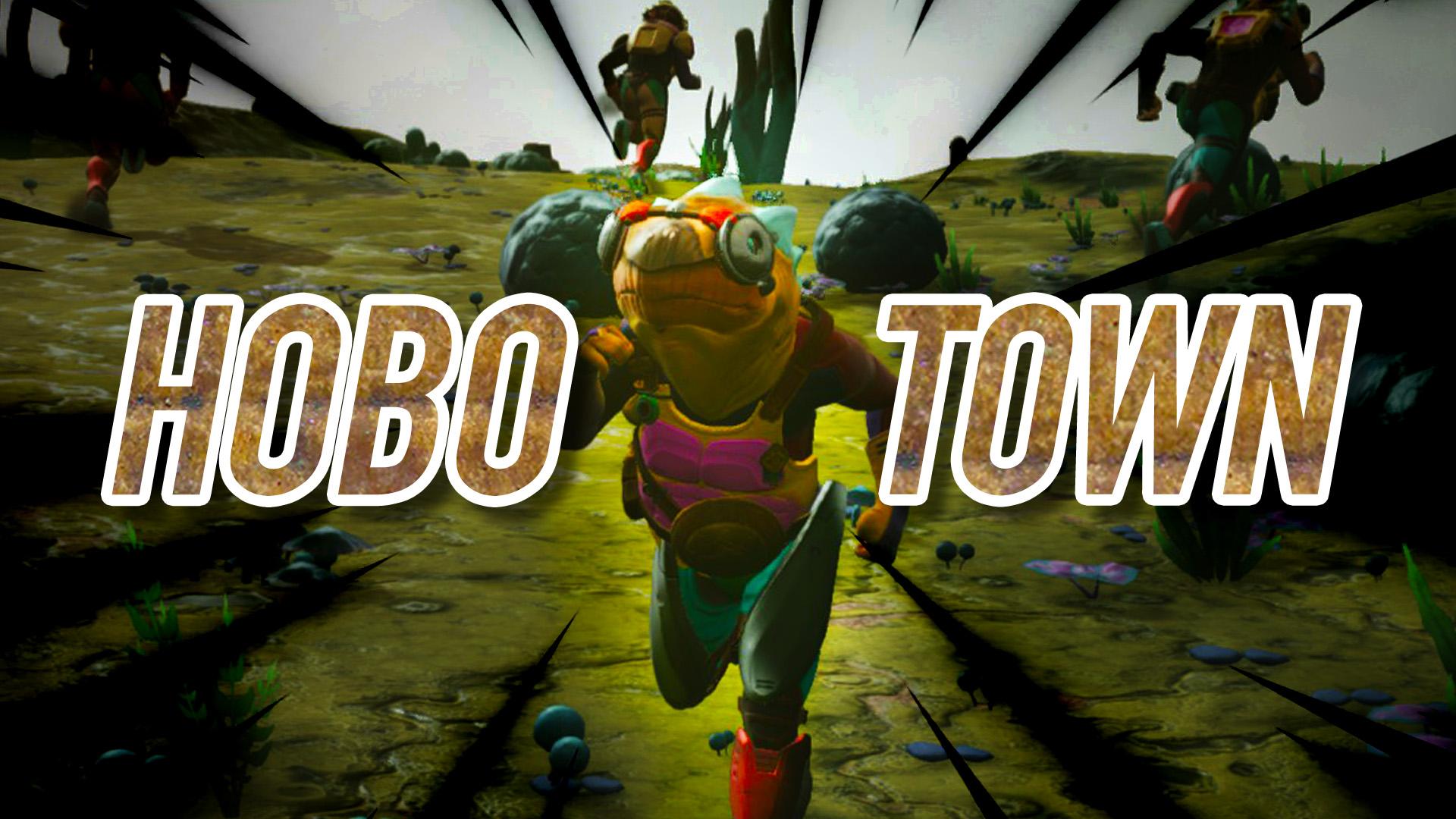 Hobo Town – Roaming, Walking NPCs