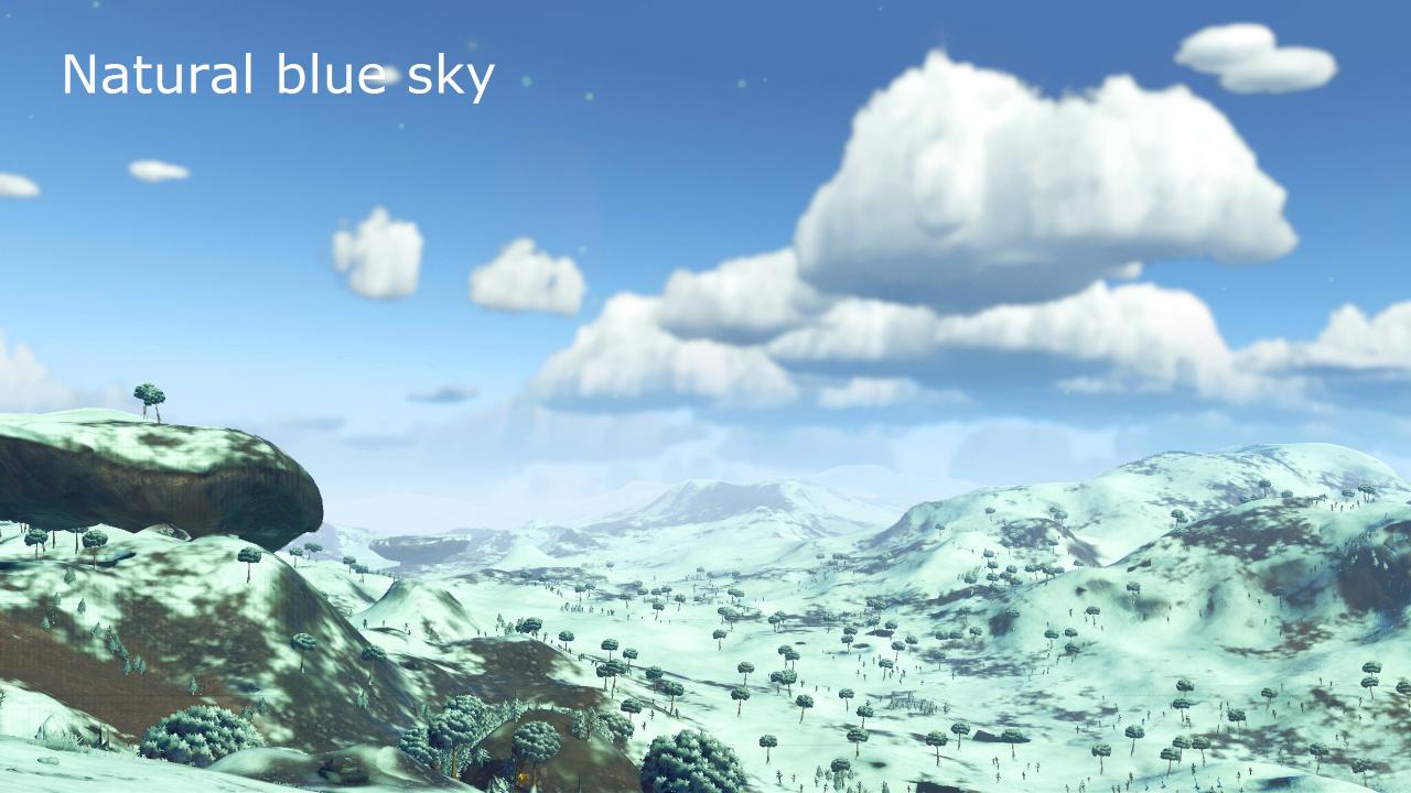 Natural Skies