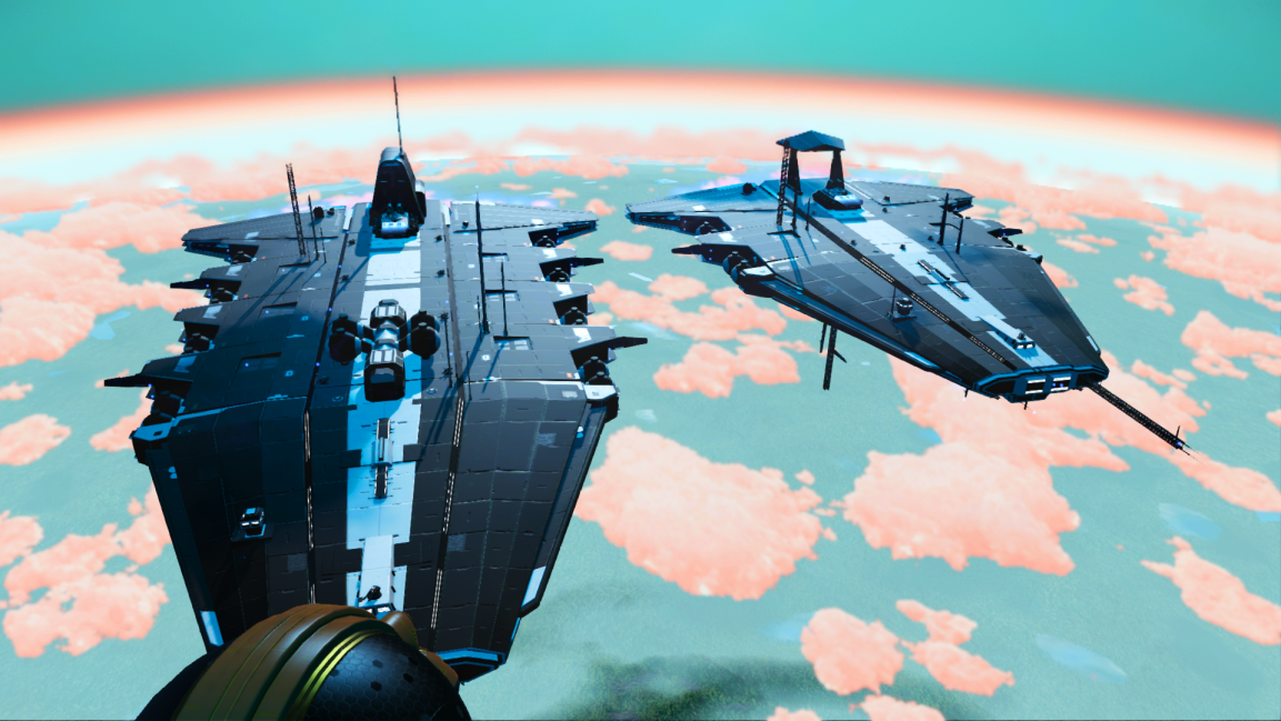 Multiple player freighters on the same system in multiplayer